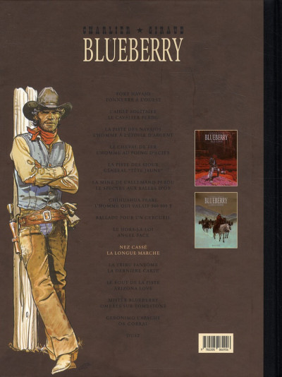 Dos Blueberry - Intégrale tome 10 (tome 18 & tome 19)