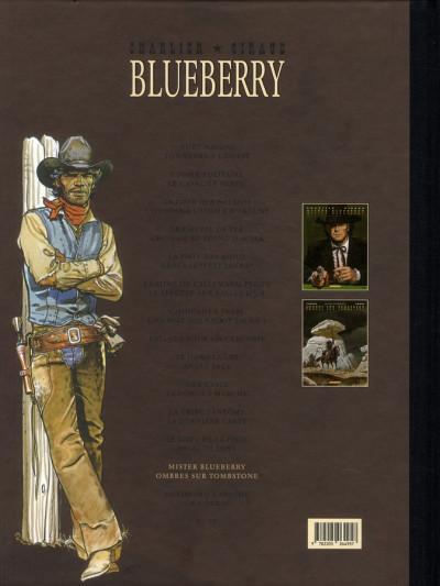 Dos Blueberry - dyptique tome 13 - mister Blueberry - ombres sur la tombstone