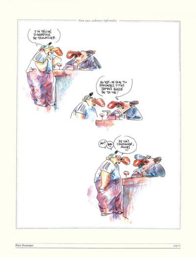 Page 3 Chez francisque tome 4 - tout fout le camp