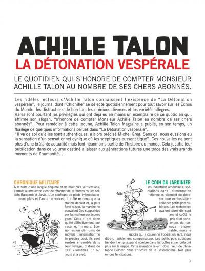 Page 3 Achille talon - intégrale tome 9