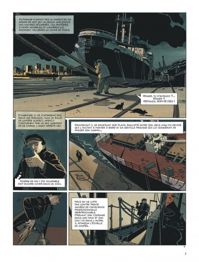 Page 3 Tramp tome 10 - le cargo maudit
