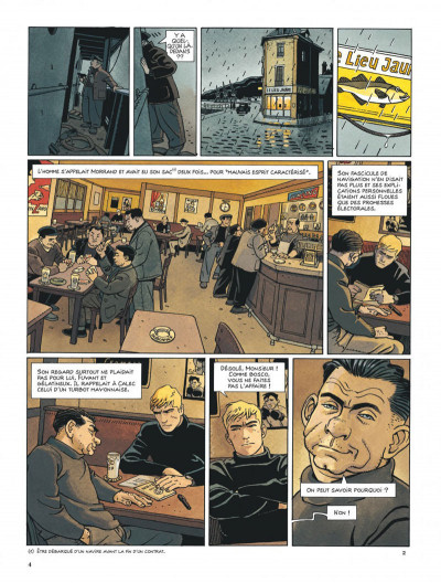 Page 4 Tramp tome 10 - le cargo maudit