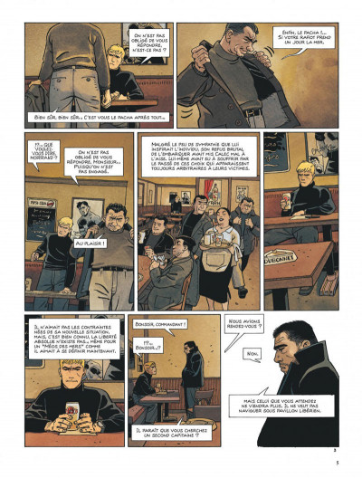 Page 5 Tramp tome 10 - le cargo maudit