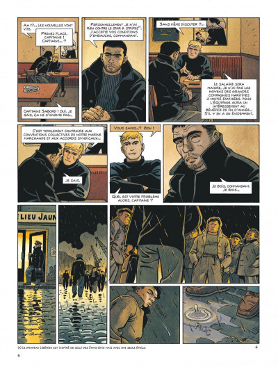 Page 6 Tramp tome 10 - le cargo maudit