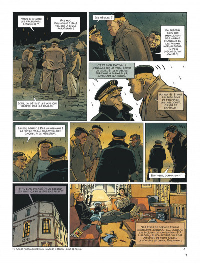 Page 7 Tramp tome 10 - le cargo maudit