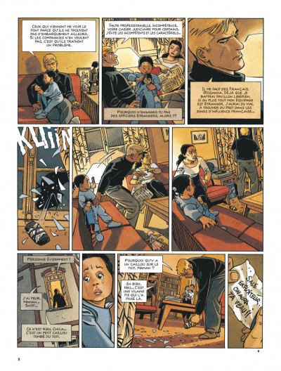 Page 8 Tramp tome 10 - le cargo maudit