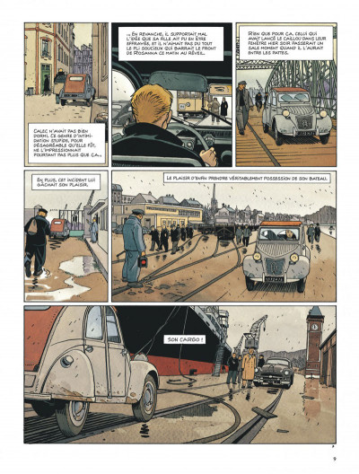 Page 9 Tramp tome 10 - le cargo maudit