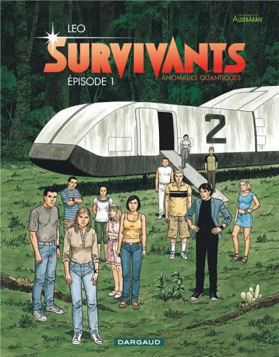 Couverture Survivants, anomalies quantiques tome 1