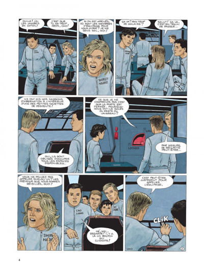 Page 2 Survivants, anomalies quantiques tome 1