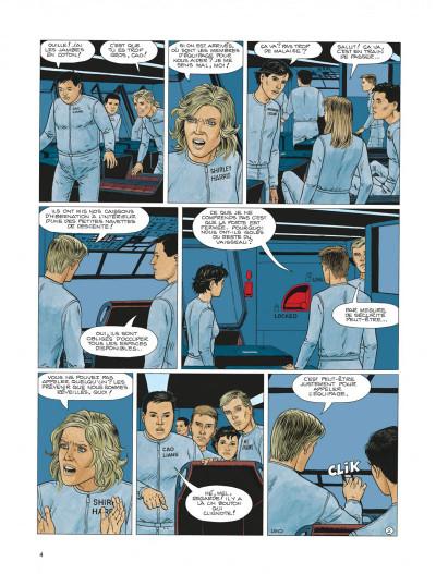 Page 4 Survivants, anomalies quantiques tome 1