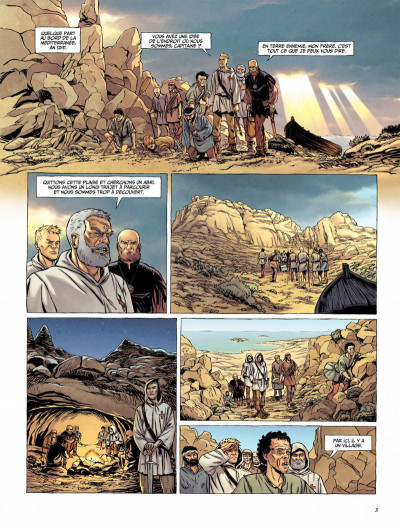 Page 1 Le dernier templier tome 3 - l'église engloutie