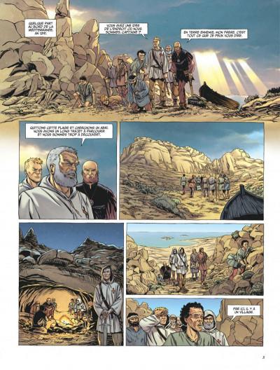 Page 3 Le dernier templier tome 3 - l'église engloutie