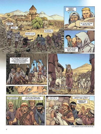 Page 4 Le dernier templier tome 3 - l'église engloutie