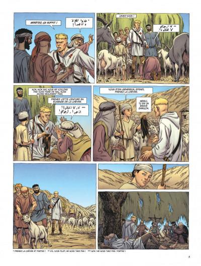 Page 5 Le dernier templier tome 3 - l'église engloutie