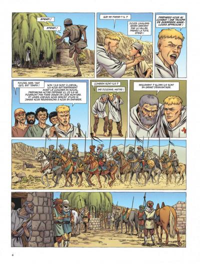 Page 6 Le dernier templier tome 3 - l'église engloutie