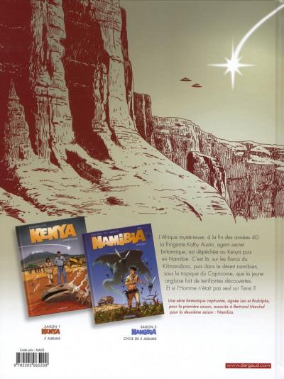 Dos Namibia tome 2 - Kenya saison 2