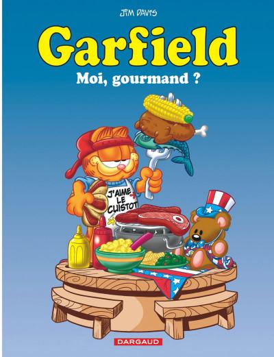 image de Garfield tome 46 - moi, gourmand?