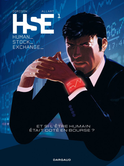Couverture human stock exchange tome 1