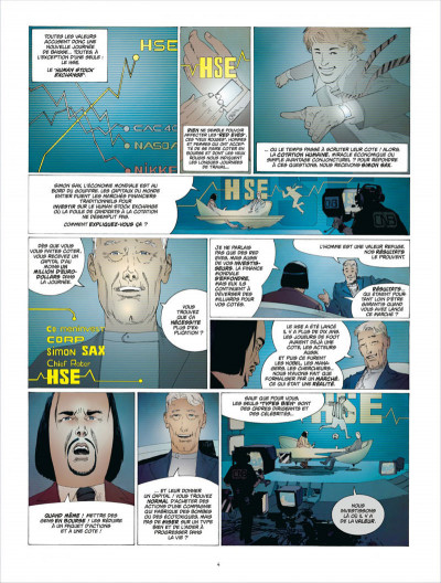 Page 4 human stock exchange tome 1