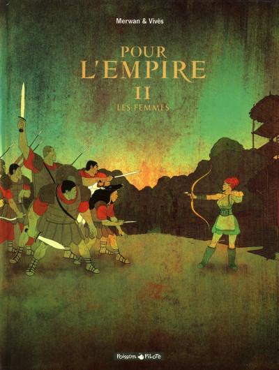 Couverture Pour l'empire tome 2 - les femmes
