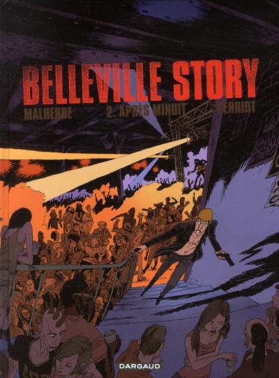 Couverture Belleville story tome 2 - après minuit