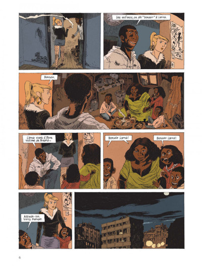 Page 4 Belleville story tome 2 - après minuit