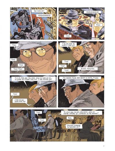 Page 5 Belleville story tome 2 - après minuit