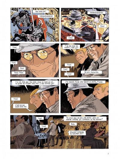 Page 7 Belleville story tome 2 - après minuit