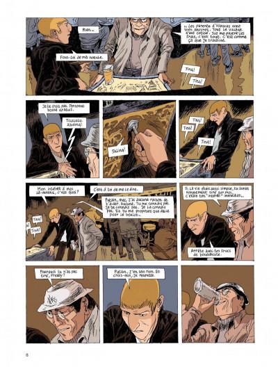 Page 8 Belleville story tome 2 - après minuit