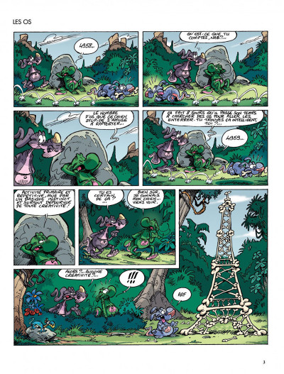 Page 3 Nab tome 13 - Treizozoïque Blues !