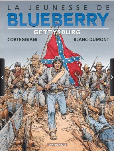 Couverture La jeunesse de blueberry tome 20 - Gettysburg