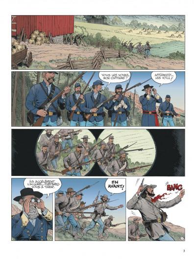 Page 3 La jeunesse de blueberry tome 20 - Gettysburg