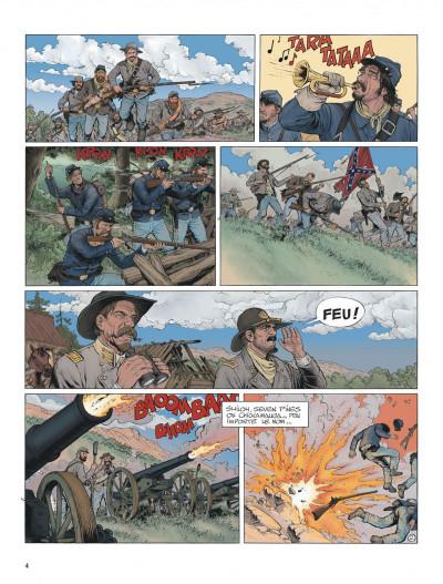 Page 4 La jeunesse de blueberry tome 20 - Gettysburg