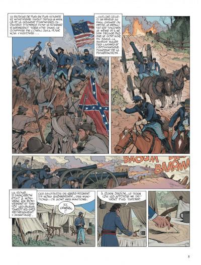 Page 5 La jeunesse de blueberry tome 20 - Gettysburg