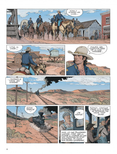 Page 6 La jeunesse de blueberry tome 20 - Gettysburg