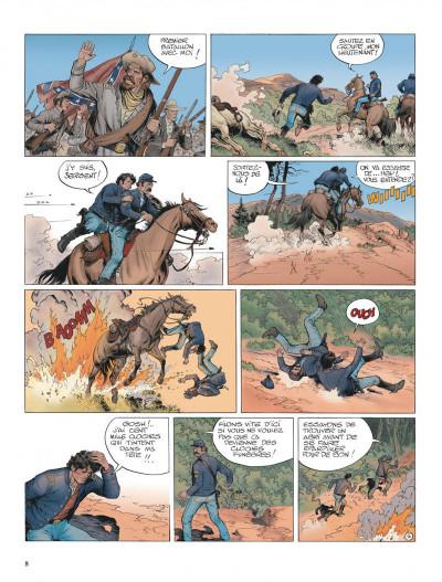 Page 8 La jeunesse de blueberry tome 20 - Gettysburg