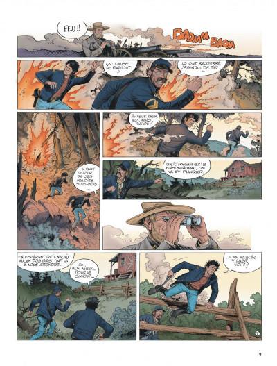 Page 9 La jeunesse de blueberry tome 20 - Gettysburg
