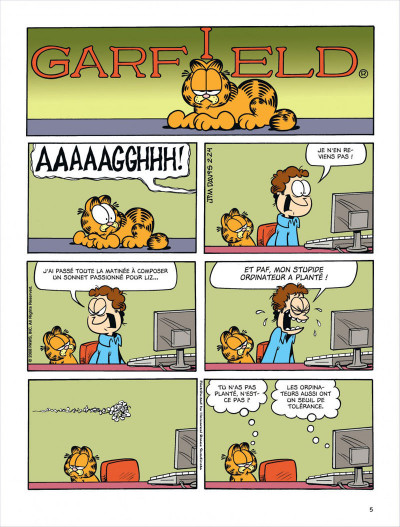 Garfield tome 54 for Farcical traduction