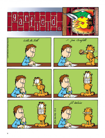 Page 4 Garfield tome 55 - CROQUETTE A LA GRIMACE