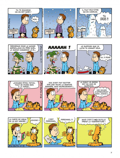 Page 7 Garfield tome 55 - CROQUETTE A LA GRIMACE