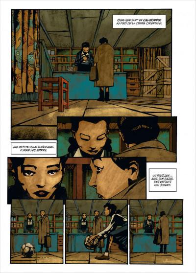 Page 4 Des dieux et des hommes tome 3 - une petite ville en Amérique