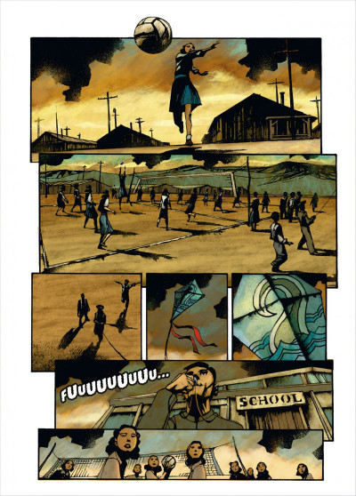 Page 5 Des dieux et des hommes tome 3 - une petite ville en Amérique