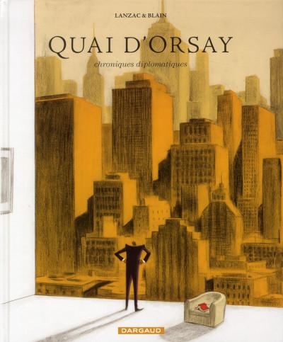 Couverture Quai d'Orsay tome 2 - chroniques diplomatiques