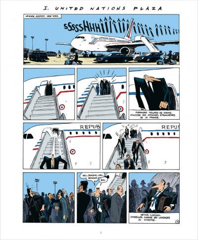 Page 5 Quai d'Orsay tome 2 - chroniques diplomatiques