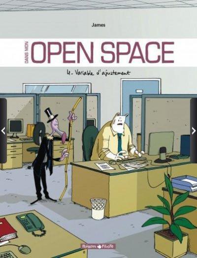 Couverture Dans mon open space tome 4 - Variable d'ajustement