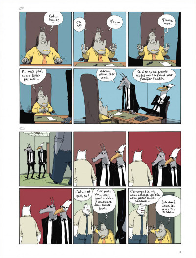 Page 3 Dans mon open space tome 4 - Variable d'ajustement