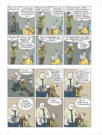 Page 6 Dans mon open space tome 4 - Variable d'ajustement