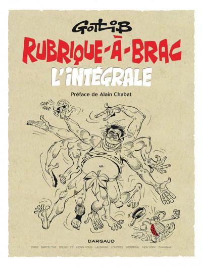 Page 3 Rubrique à brac - intégrale (nouvelle édition)