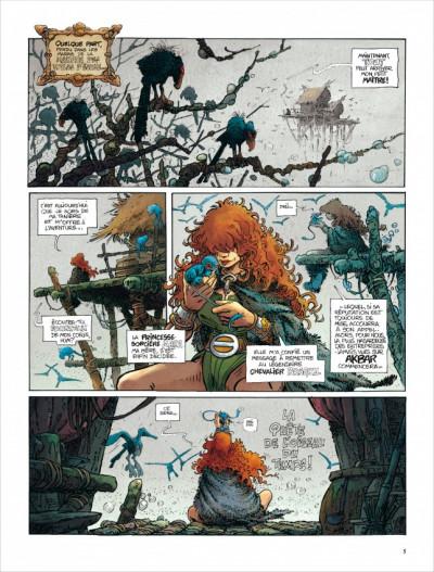 Page 4 La quête de l'oiseau du temps - intégrale