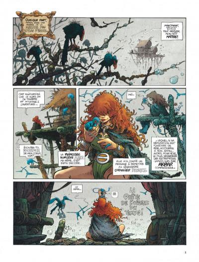 Page 5 La quête de l'oiseau du temps - intégrale